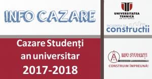 CAZARE an universitar 2017-2018